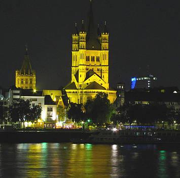 Cologne at Night by Barbara Chachibaya