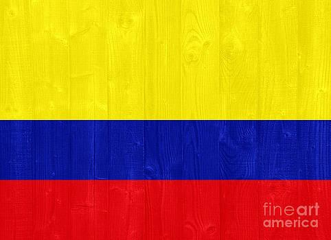 Colombia flag by Luis Alvarenga