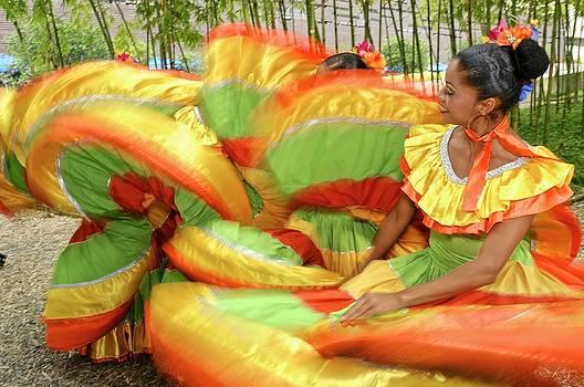 Colombian Folk Dancer by Kike Calvo