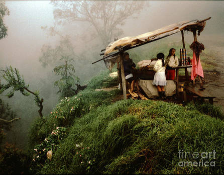 Colombian Road Stand by Lawrence Costales