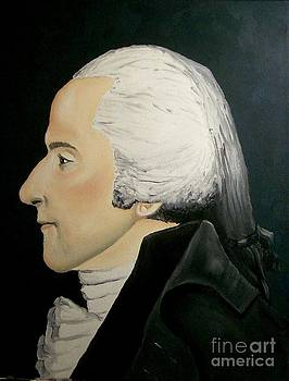 Colonial Man Profile by Robert Arsenault