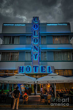 Ian Monk - Colony Hotel Art Deco District SOBE Miami Florida - HDR Style