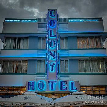 Ian Monk - Colony Hotel Art Deco District SOBE Miami Florida - Square