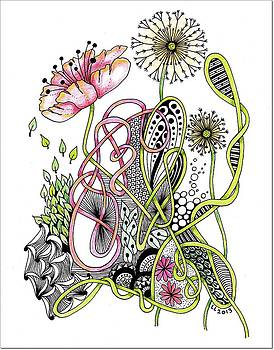 Color flower by Lissi Lyngsoe