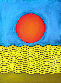 Color Geometry - Whole by Carolyn Goodridge