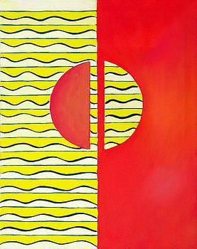 Color Geometry-Halves by Carolyn Goodridge