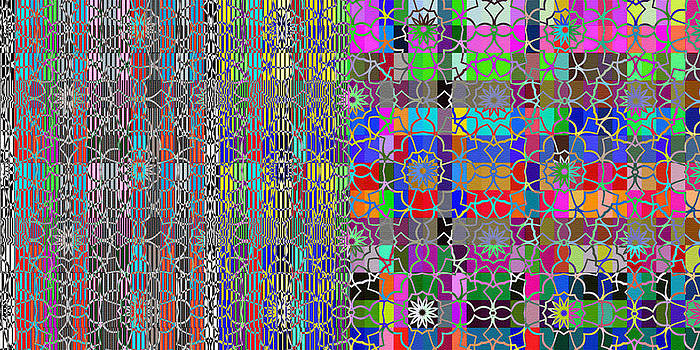 Mary Clanahan - Color Grated Abstract