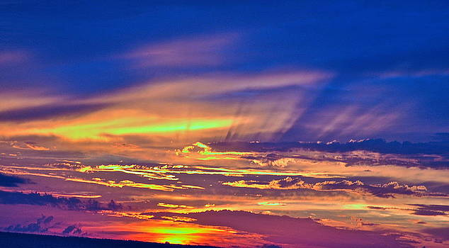 Color of a Sunset by Bruce Smith