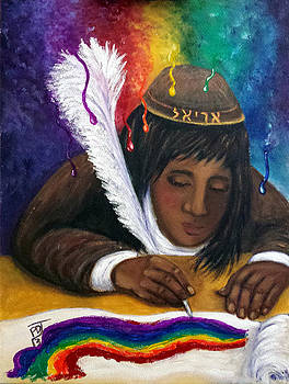 Color Oracle And Scribal Anointing by Pamorama Jones