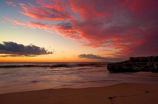Color Stained Sky by Boyd Nesbitt