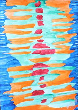 Color Totem by Gina Bonelli