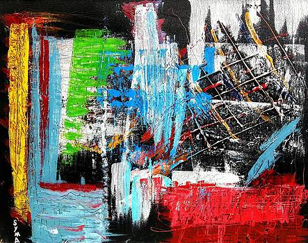 Color Way II by Syma Art