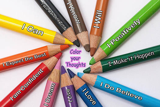 Color your Thoughts by Barry R Jones Jr