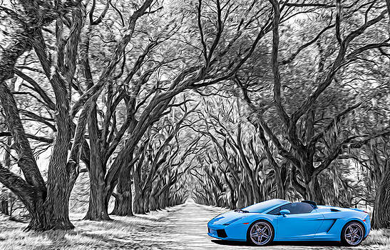 Steve Harrington - Color Your World Blue - Lamborghini Gallardo