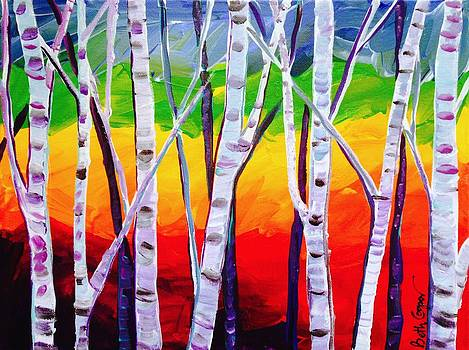 Colorado Aspen by Beth Cooper