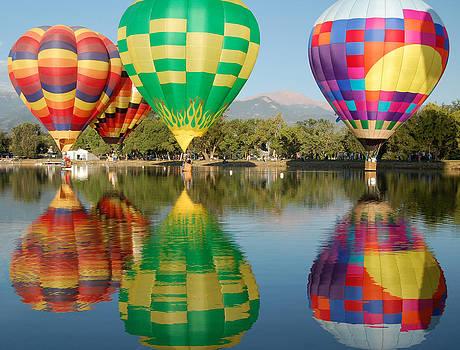 Colorado Balloon Classic by Rhonda Van Pelt
