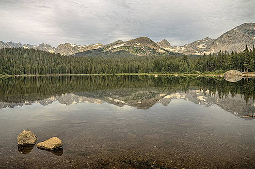 James BO  Insogna - Colorado Brainard Lake Reflection