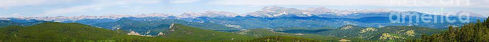 James BO  Insogna - Colorado Continental Divide Panorama HDR