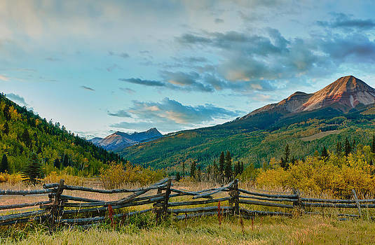 Colorado Countryside Showing Fall Color by Victoria Porter