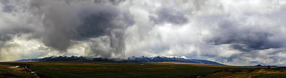Colorado Rockies Panorama II by Greg Reed