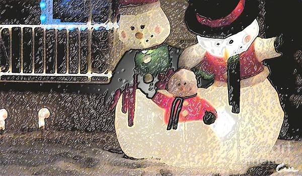 Feile Case - Colorado Snowman Family 2 12 2011