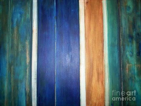 Colored Wood by Nik Olajuwon Shumway