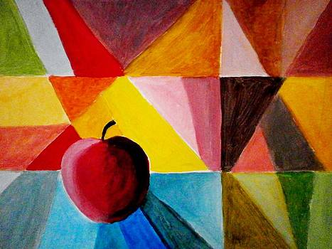 Colorful apple by Constantinos Charalampopoulos