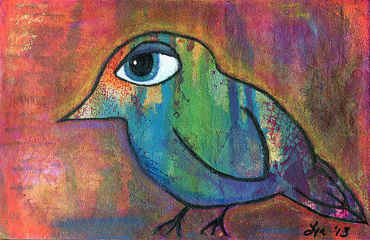 Colorful Bird by Lynda Metcalf