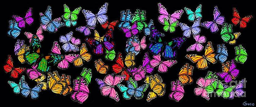 Nick Gustafson - Colorful Butterflies