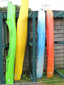 Anastasia Konn - Colorful Canoes
