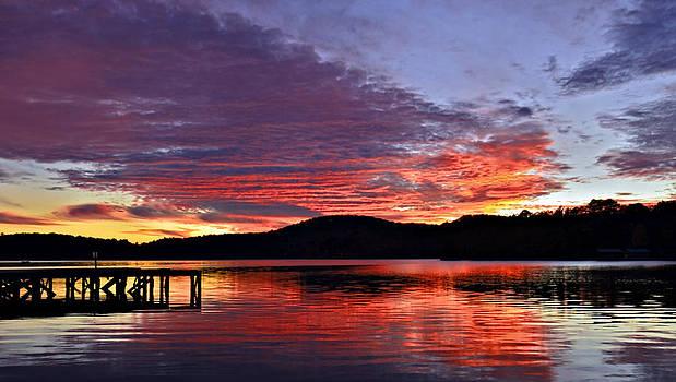 Colorful Evening by Susan Leggett