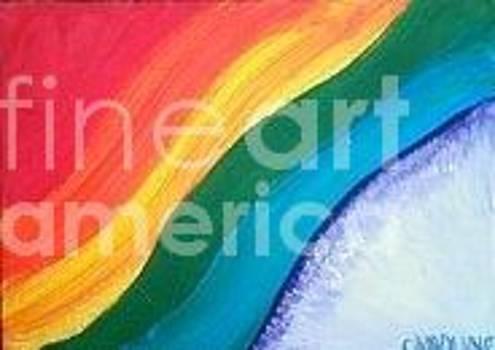 Colorful Flow by Caroline Reyes