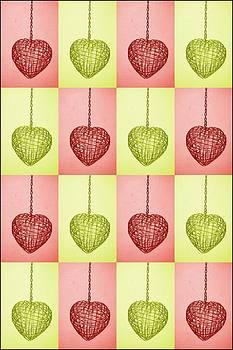 Colorful Hearts by Jaqueline Briel