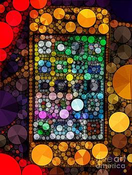 Colorful iPhone by Rachel Barrett