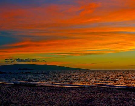 Colorful Kaho'olawe by Carl Christensen