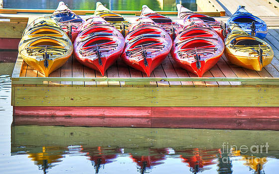 Brenda Giasson - Colorful Kayaks