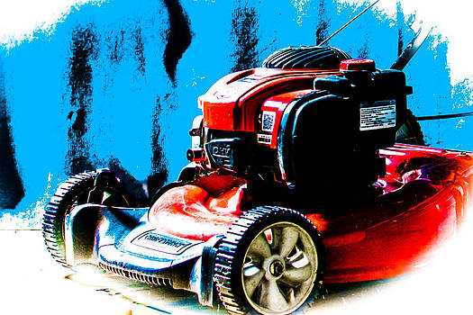 Colorful Lawnmower by Jason Brow