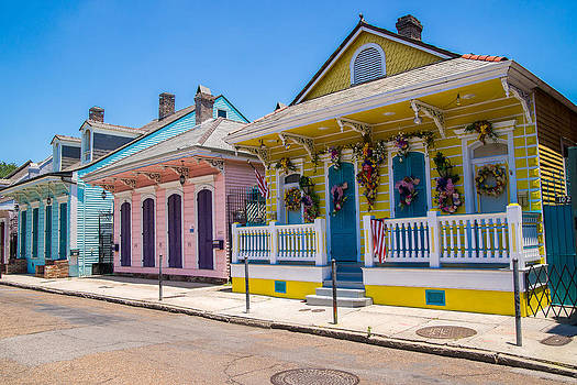 Colorful New Orleans by Peter Verdnik