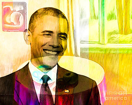 Algirdas Lukas - Colorful Obama