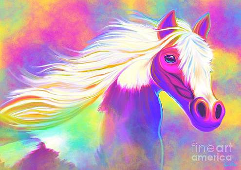 Nick Gustafson - Colorful Painted Pony
