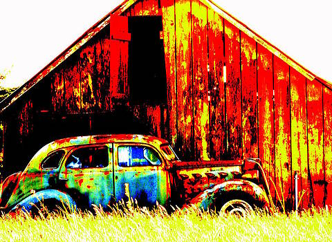 Colorful Past by Mamie Gunning
