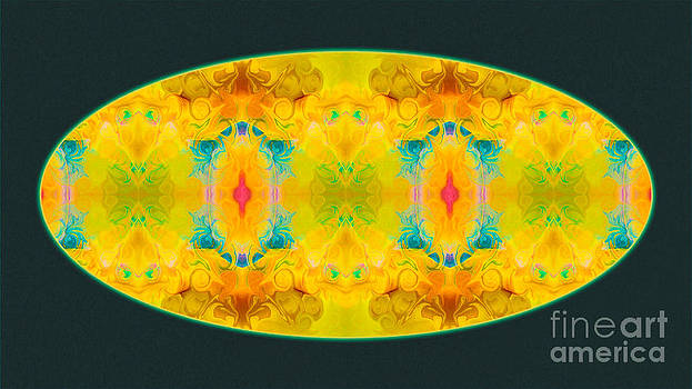 Omaste Witkowski - Colorful Pattern Of Existence Abstract Pattern Artwork by Omaste Witkowski
