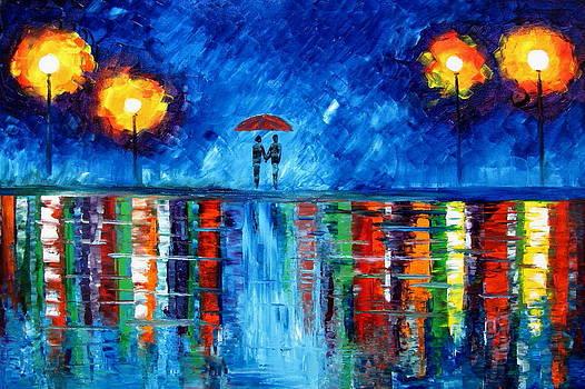 Colorful rain by Mariana Stauffer