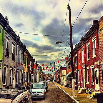 Colorful #southphilly Block On The by Dan  Diamond