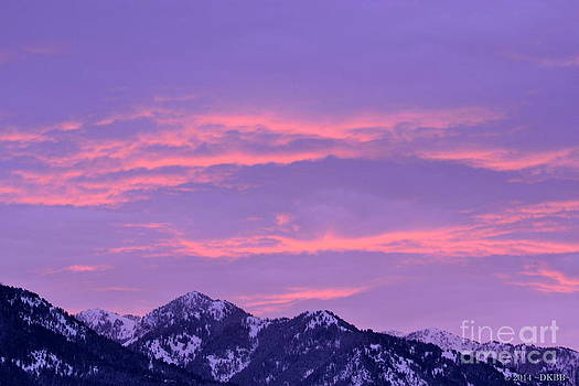 Colorful Sunrise No. 2 by Dorrene BrownButterfield