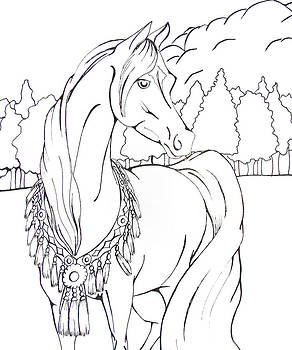 Coloring Page 3 by Lisa Nadler