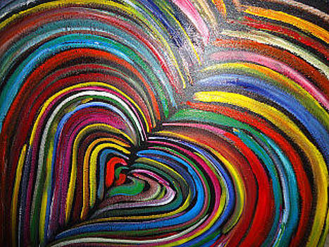 Colors Heart  by Cristina Chavez