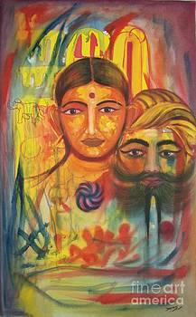 Colors in rajasthan by Dhiraj Parashar