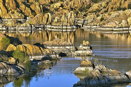 James Steele - Colors In The Rocks At Watsons Lake Arizona
