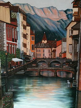 Colors of Annecy by Cynthia Ablicki
